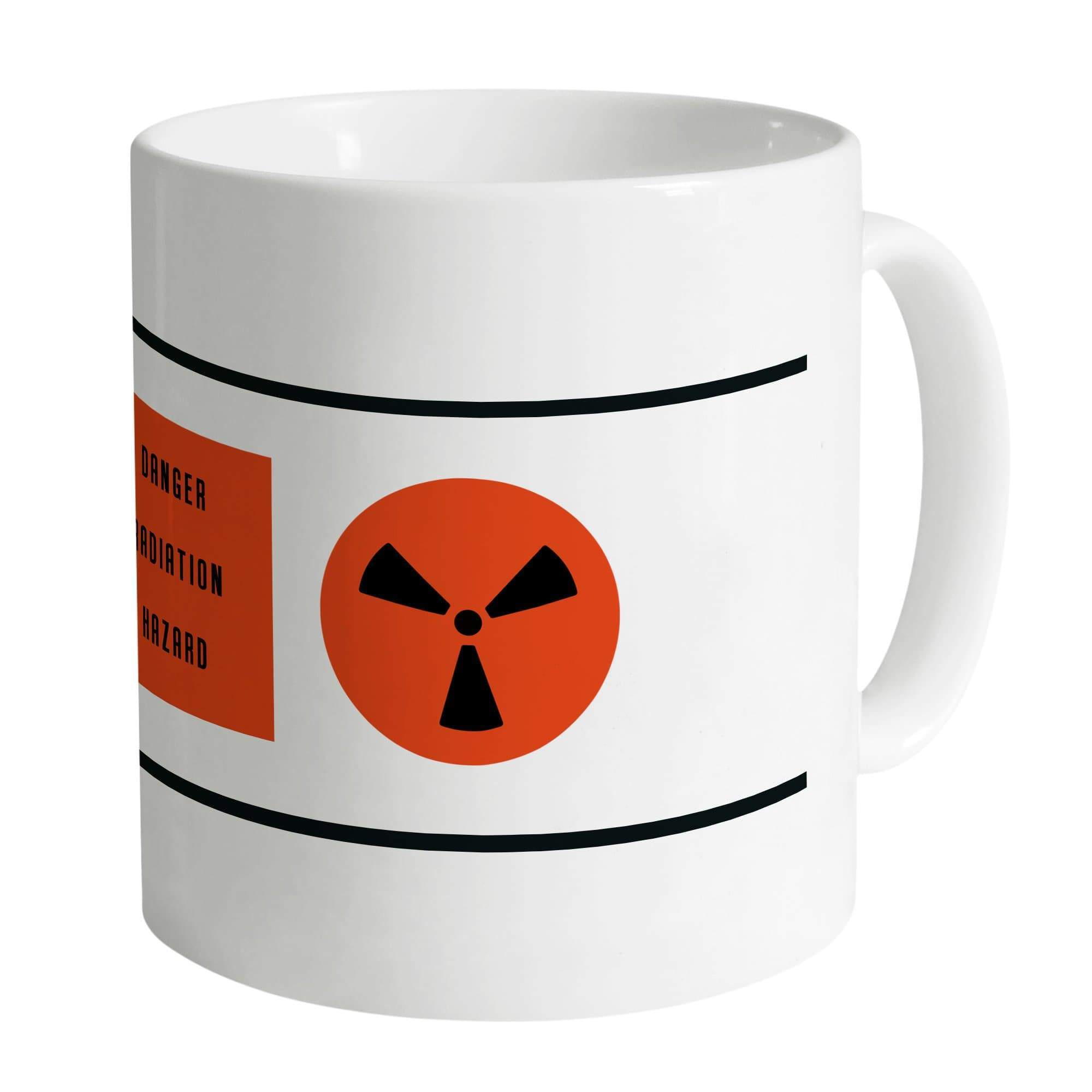 Nuclear Waste Canister White Mug - The Gerry Anderson Store