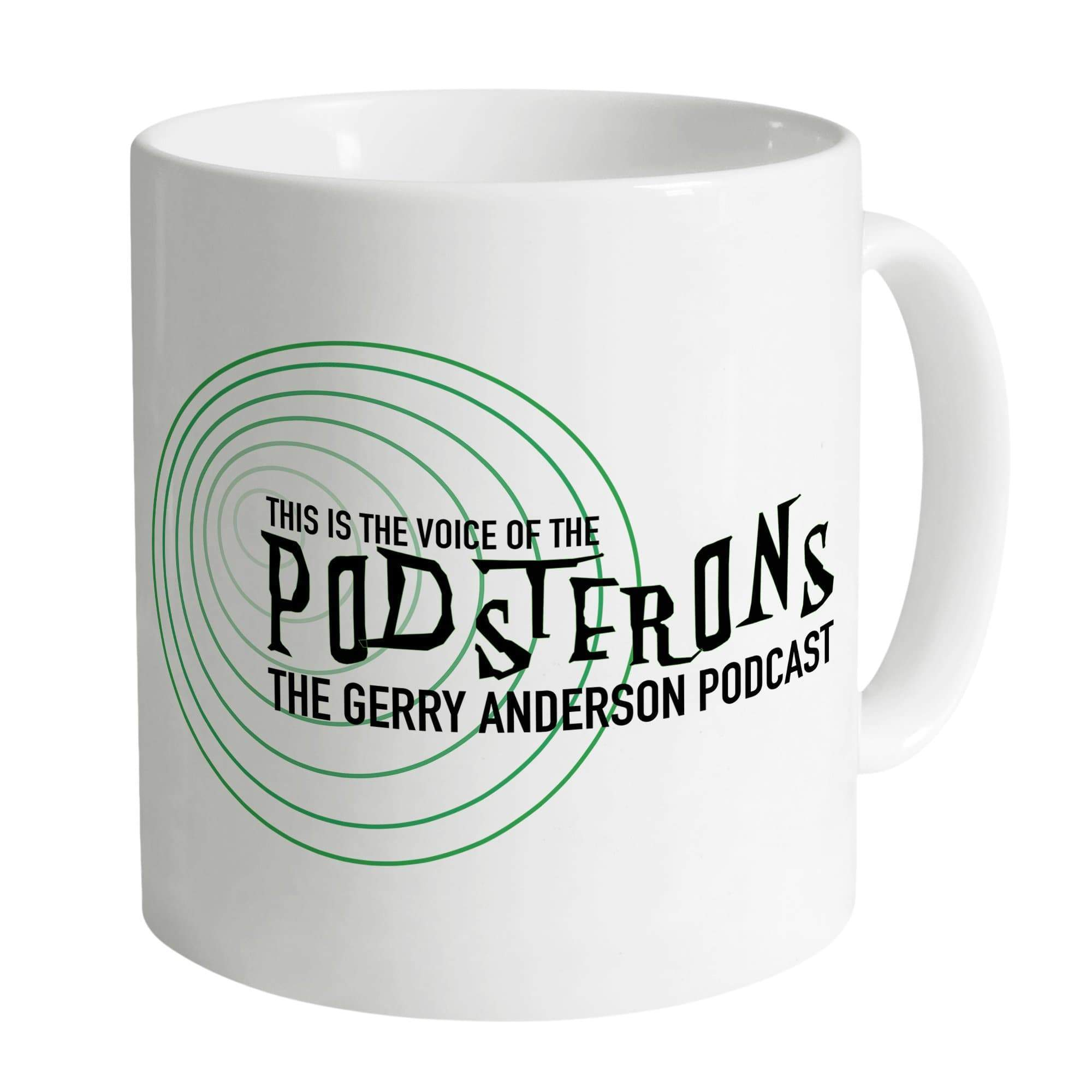 Podsterons Mug [Official & Exclusive] - The Gerry Anderson Store
