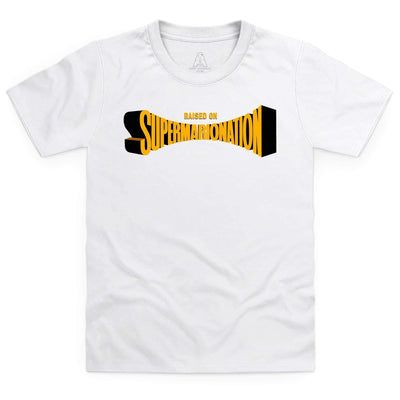 Raised on Supermarionation Kid's T-Shirt [Official & Exclusive] - The Gerry Anderson Store