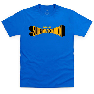 Raised on Supermarionation Men's T-Shirt [Official & Exclusive] - The Gerry Anderson Store
