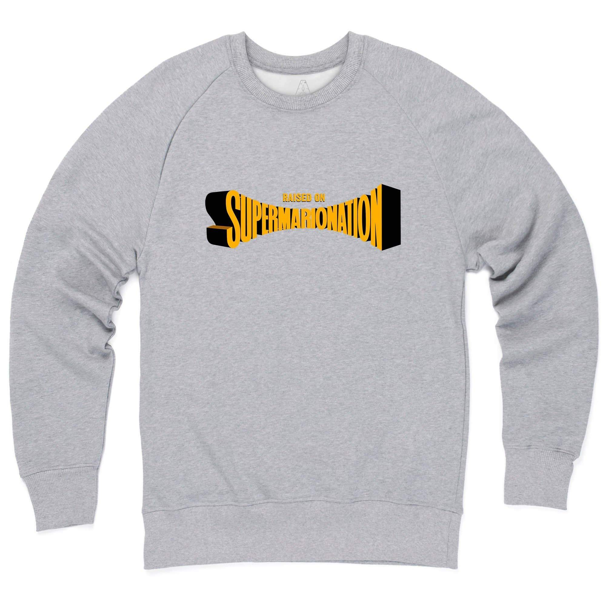 Raised on Supermarionation Sweatshirt [Official & Exclusive] - The Gerry Anderson Store