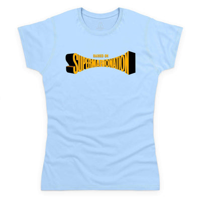 Raised on Supermarionation Women's T-Shirt [Official & Exclusive] - The Gerry Anderson Store