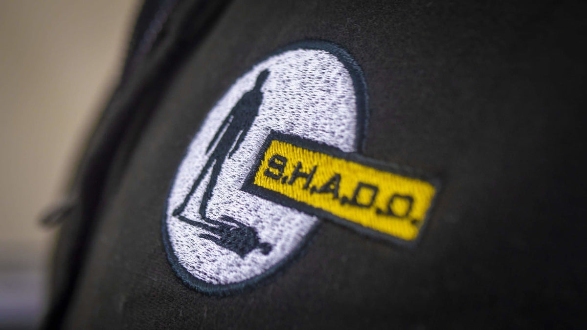 SHADO/UFO Men's Zipped Hoodie with Embroidery [Official & Exclusive] - The Gerry Anderson Store