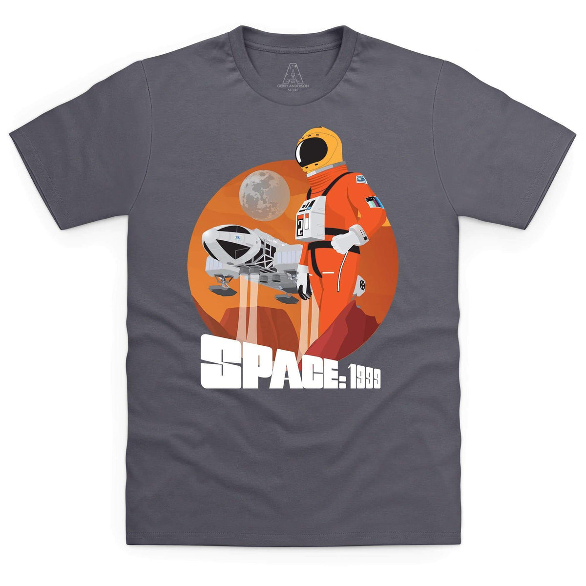 Space: 1999 Alphan Graphic Men's T-Shirt [Official & Exclusive] - The Gerry Anderson Store
