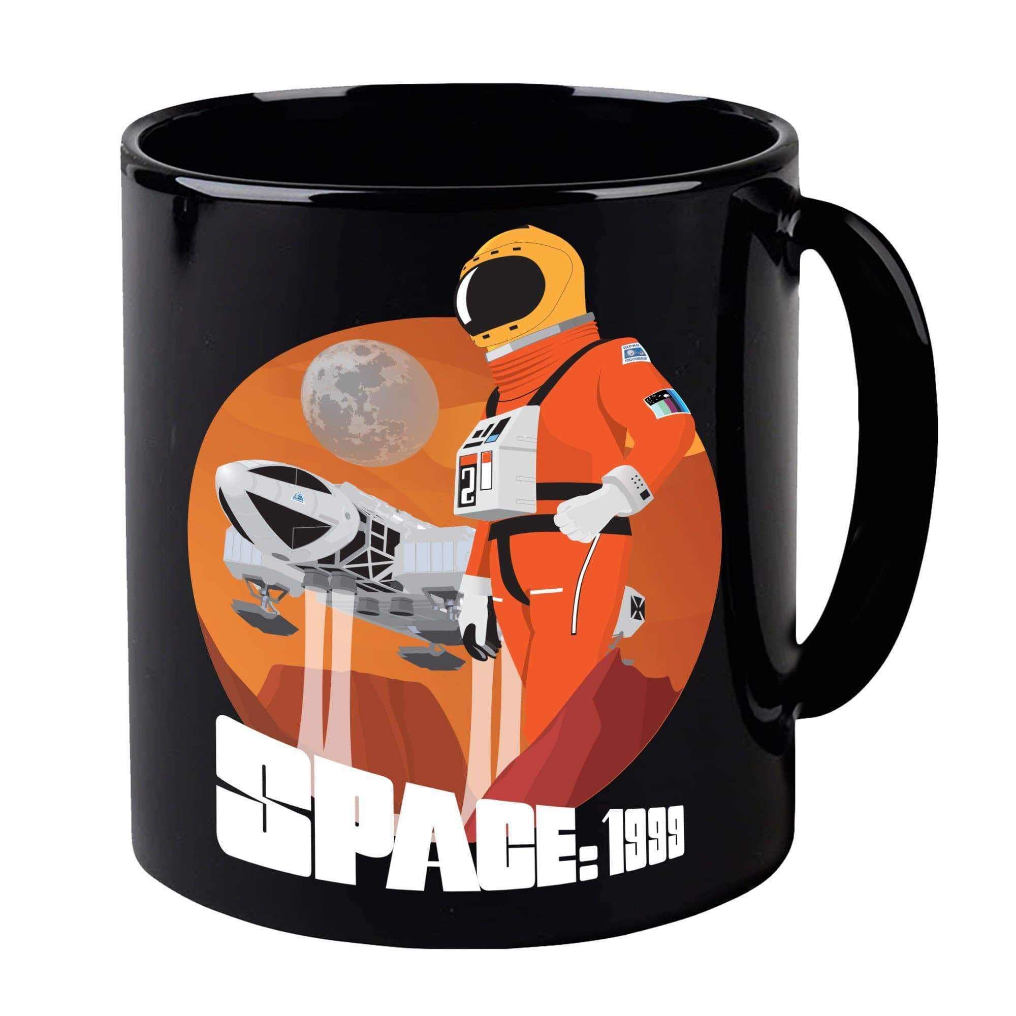 Space: 1999 Alphan Graphic Mug [Official & Exclusive] - The Gerry Anderson Store