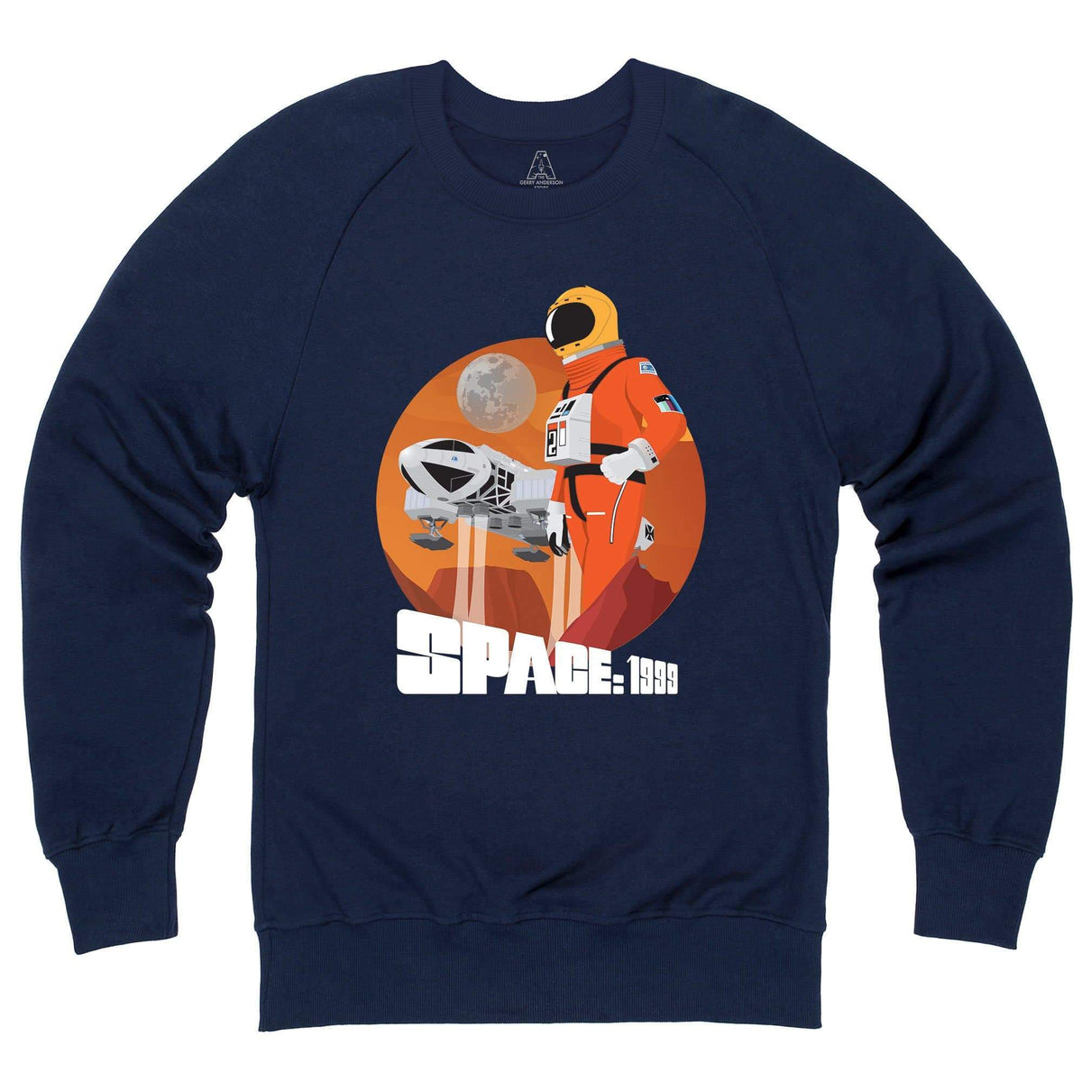 Space: 1999 Alphan Graphic Sweatshirt [Official & Exclusive] - The Gerry Anderson Store