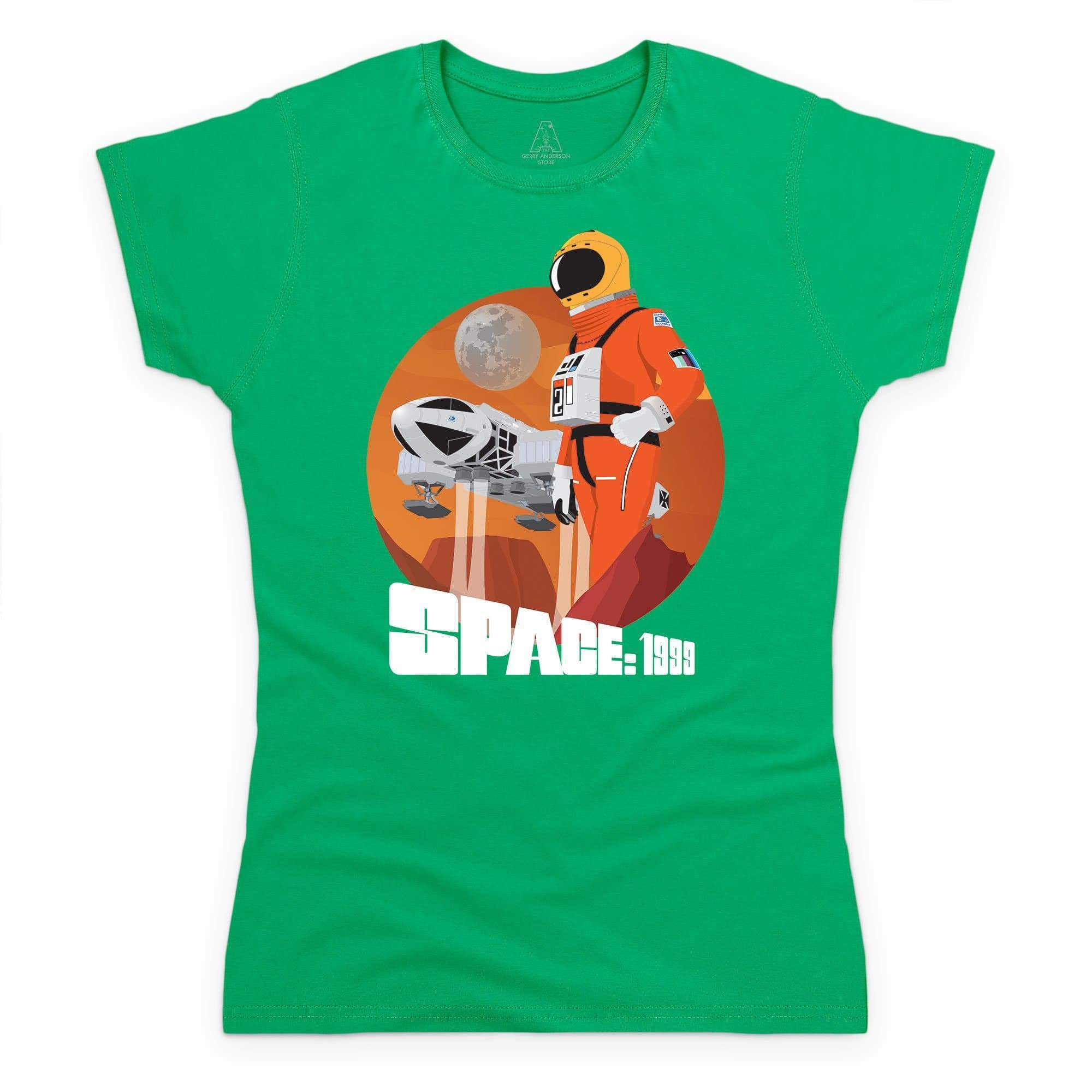 Space: 1999 Alphan Graphic Women's T-Shirt [Official & Exclusive] - The Gerry Anderson Store