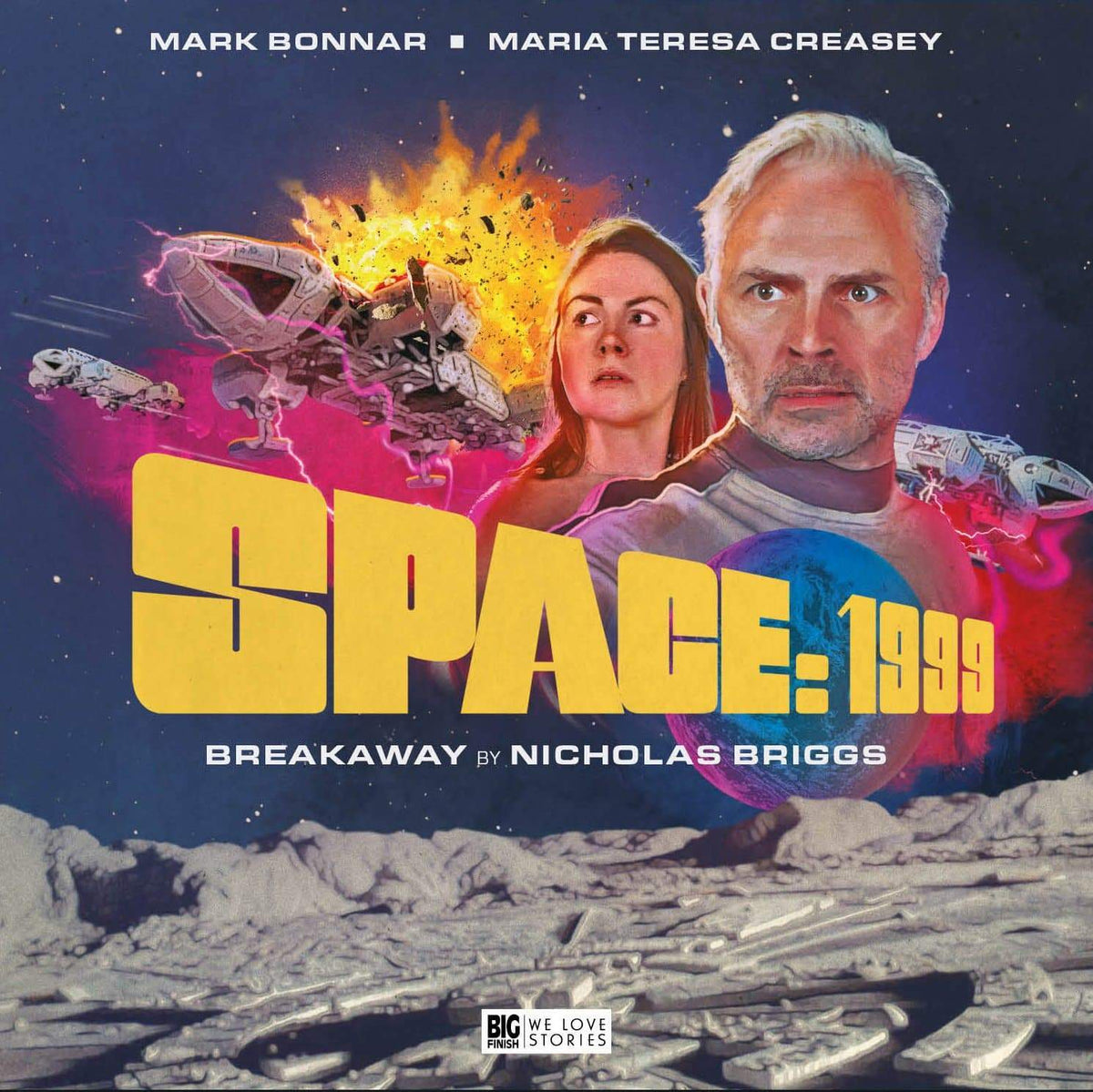 Space: 1999 Breakaway Special Edition Audio Drama (Limited Edition) - The Gerry Anderson Store