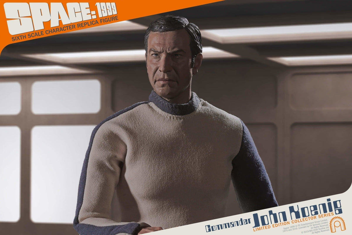 Space: 1999 Commander John Koenig 1/6 Scale Character Replica Figure from Big Chief Studios - The Gerry Anderson Store