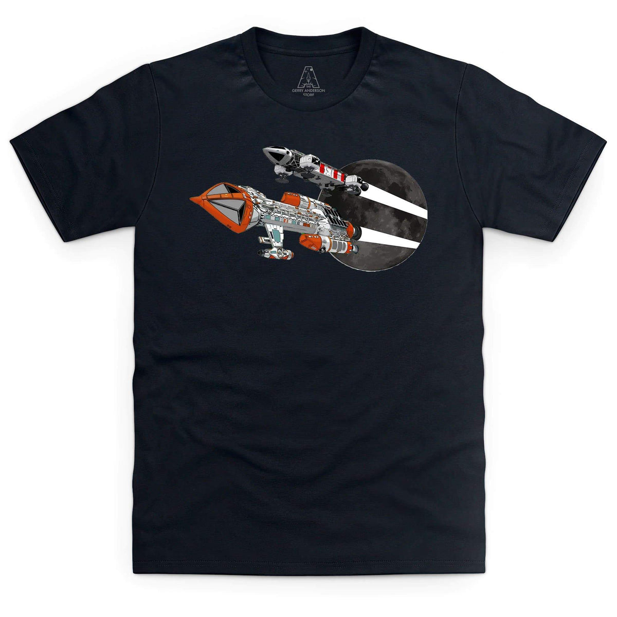 Space: 1999 Eagle and Hawk Men's T-Shirt [Official & Exclusive] - The Gerry Anderson Store
