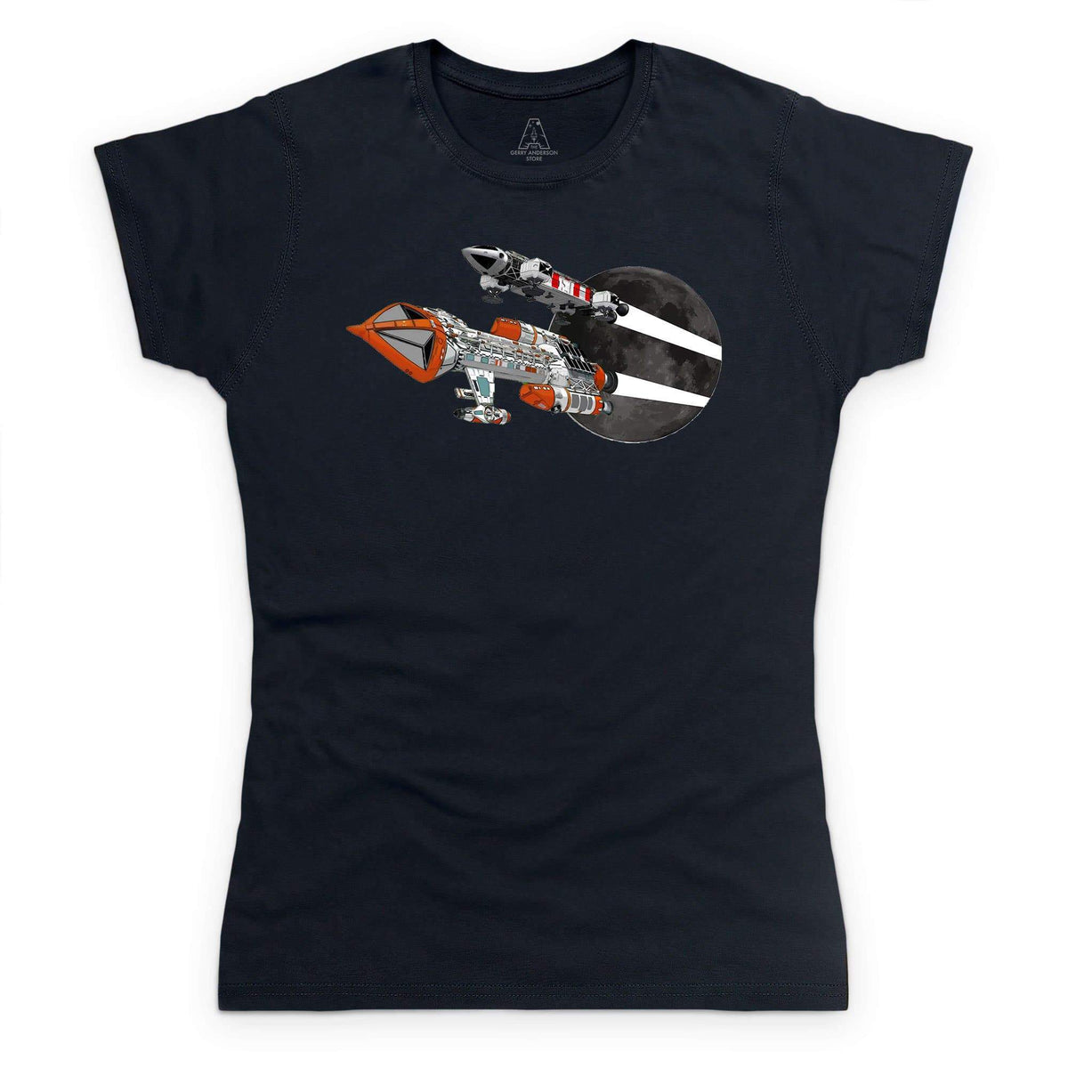 Space: 1999 Eagle and Hawk Women's T-Shirt [Official & Exclusive] - The Gerry Anderson Store