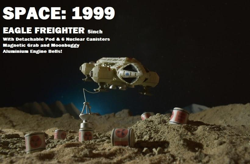 Space: 1999 Eagle Freighter - The Gerry Anderson Store