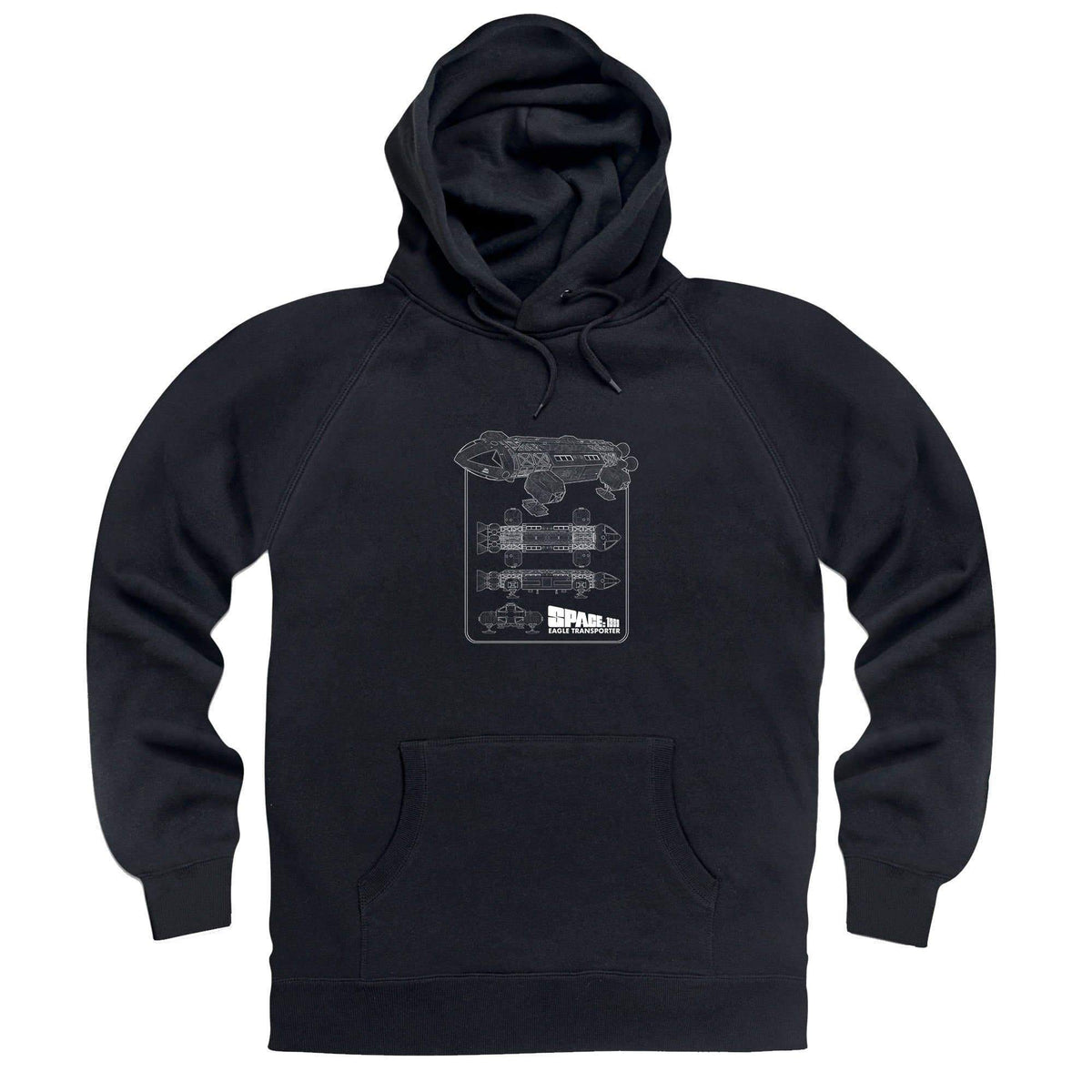 Space: 1999 Eagle Schematic Hoodie [Official & Exclusive] - The Gerry Anderson Store