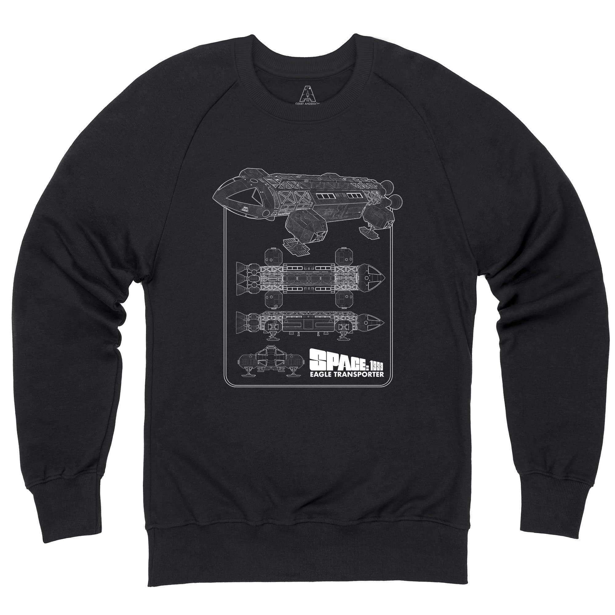 Space: 1999 Eagle Schematic Sweatshirt [Official & Exclusive] - The Gerry Anderson Store