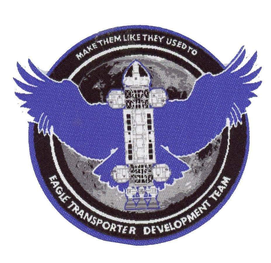 Space: 1999 Eagle Transporter Development Team Patch [Official & Exclusive]