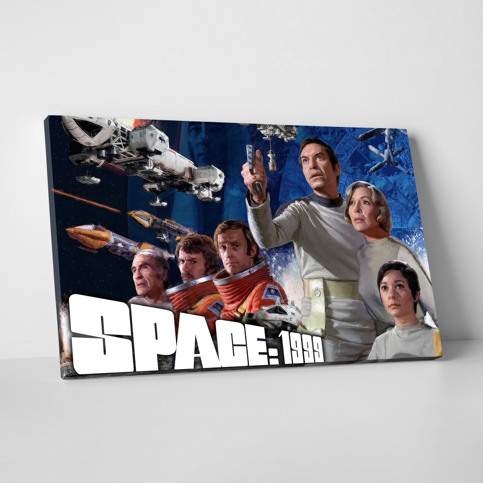 Space: 1999 Season 1 Canvas Print [Official and Exclusive] - The Gerry Anderson Store