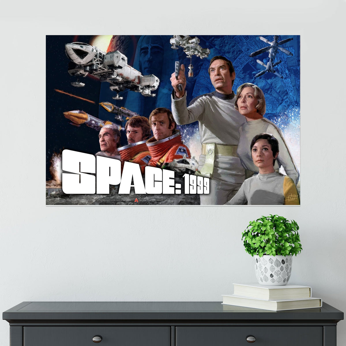 Space: 1999 Season 1 Poster [Official and Exclusive] - The Gerry Anderson Store