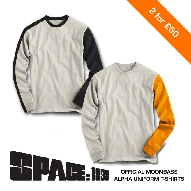 Space: 1999 Uniform Cosplay Long Sleeve T-Shirt [Official & Exclusive] - The Gerry Anderson Store