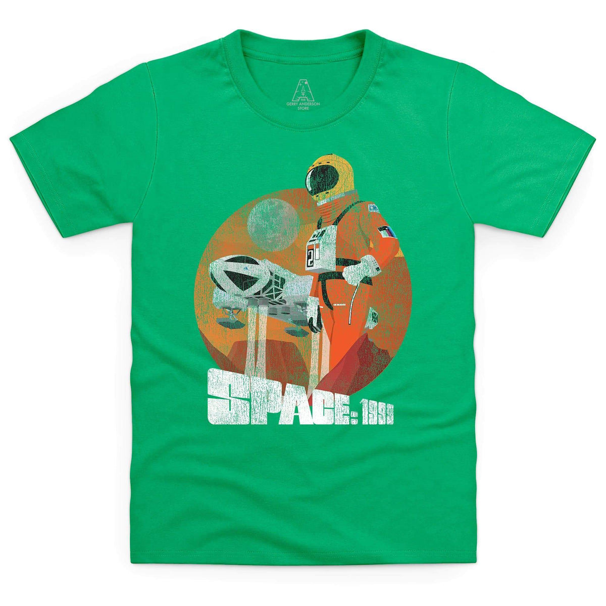 Space: 1999 Vintage Style Alphan Graphic Kid's T-Shirt [Official & Exclusive] - The Gerry Anderson Store