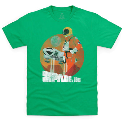 Space: 1999 Vintage Style Alphan Graphic Men's T-Shirt [Official & Exclusive] - The Gerry Anderson Store