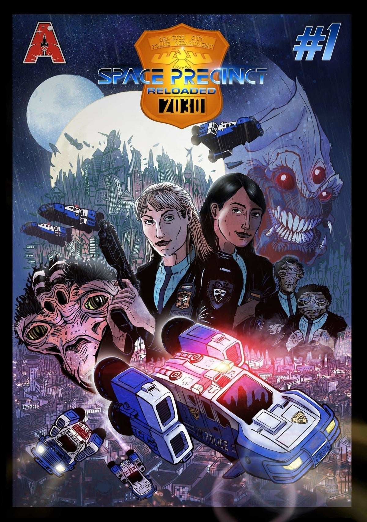 Space Precinct Comic - Space Precinct Reloaded: Volume 1 - The Gerry Anderson Store