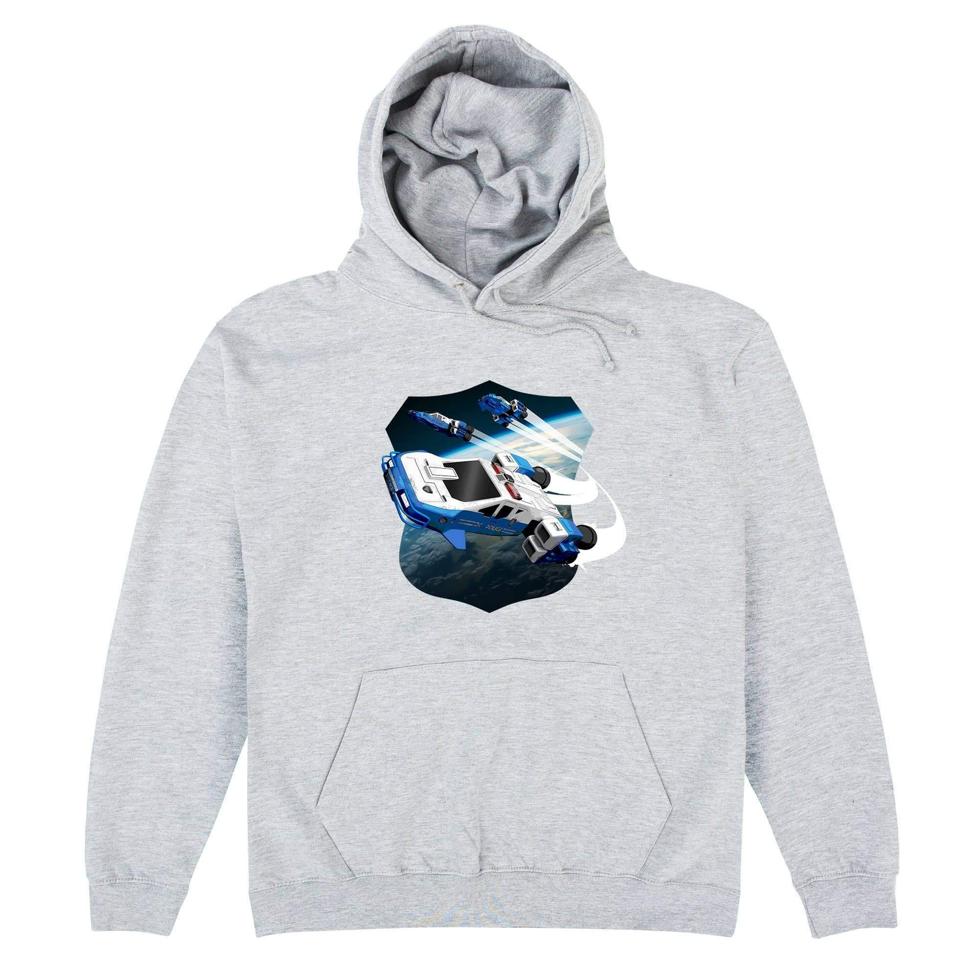 Space Precinct Cruiser Hoodie [Official & Exclusive] - The Gerry Anderson Store