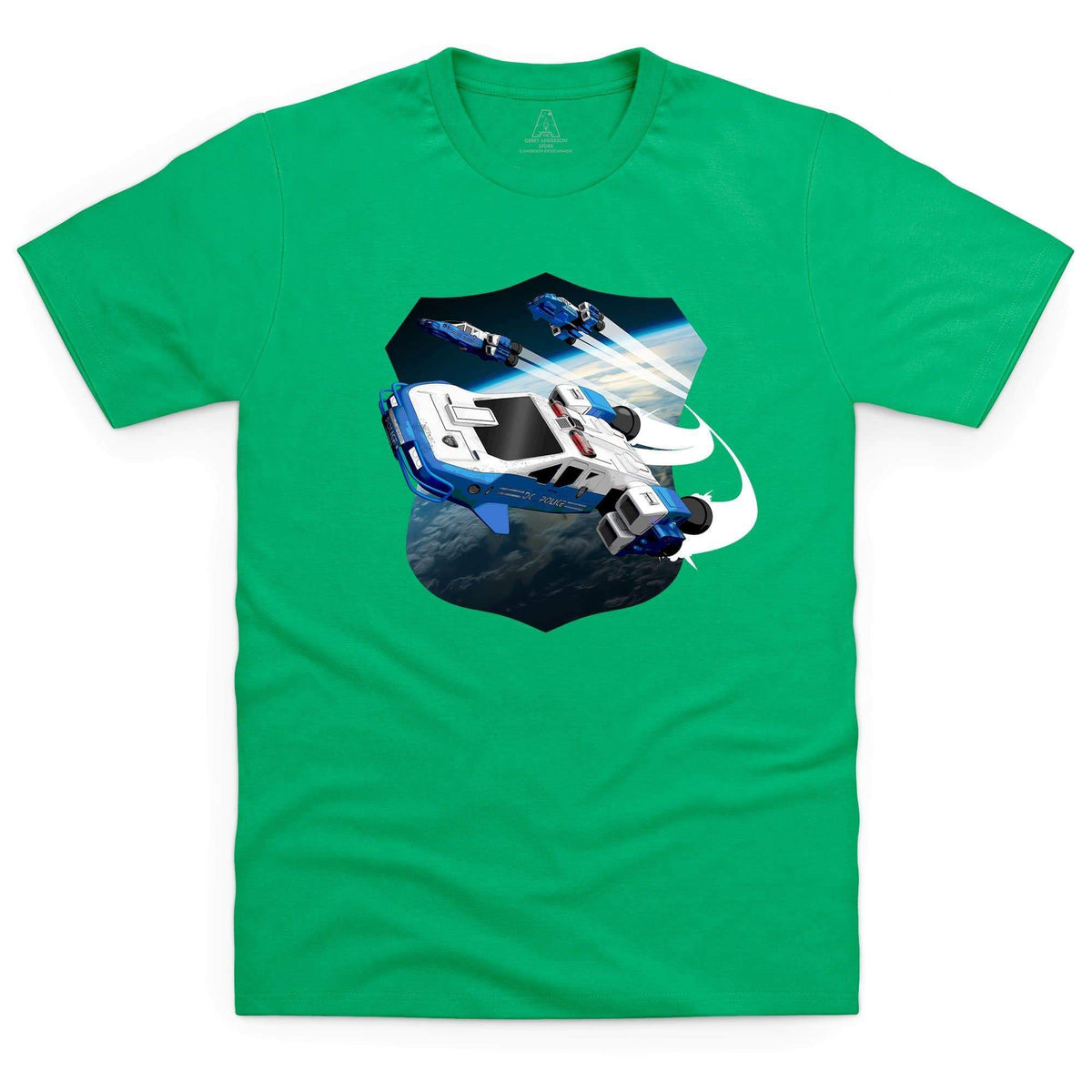 Space Precinct Cruiser Men's T-Shirt [Official & Exclusive] - The Gerry Anderson Store