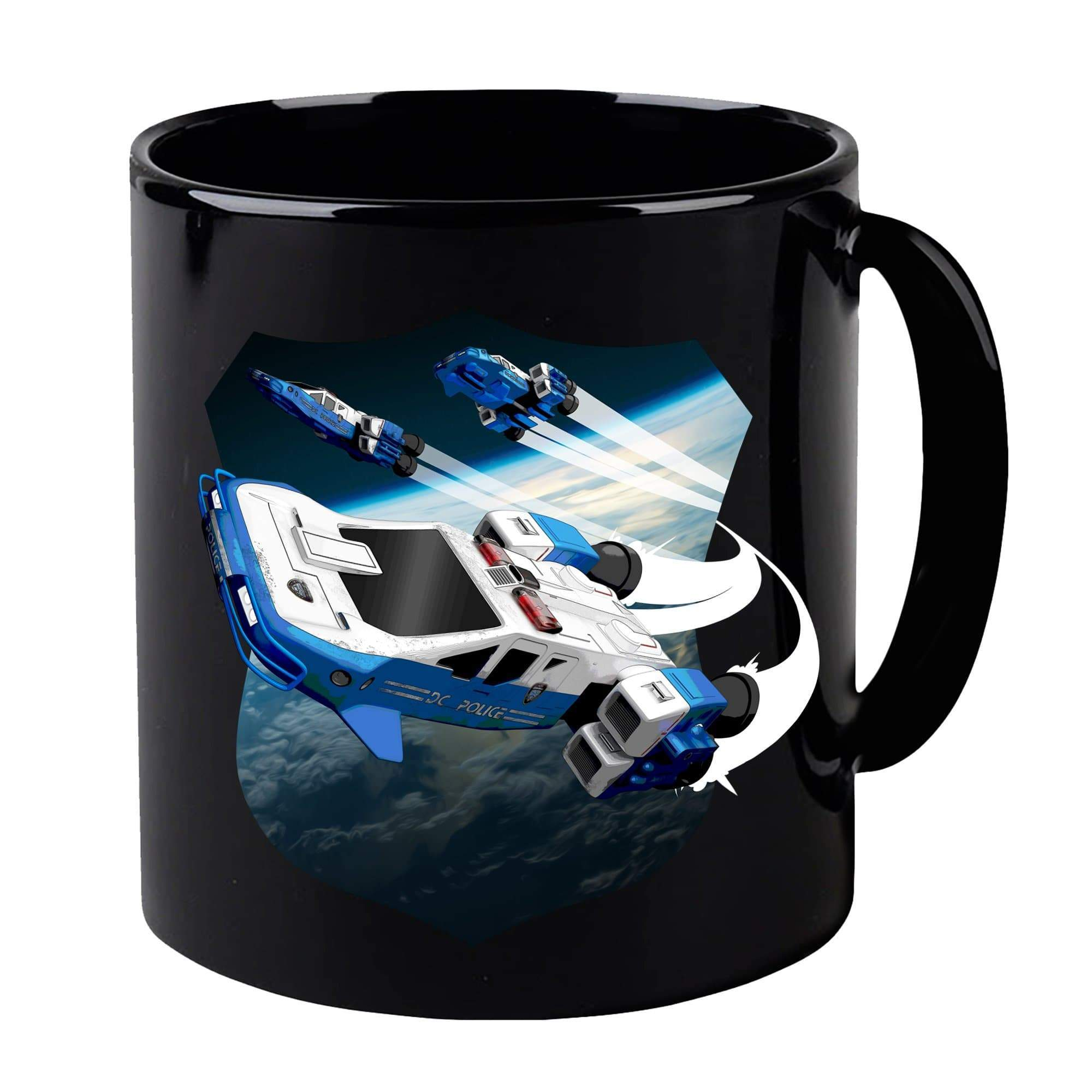 Space Precinct Cruiser Mug [Official & Exclusive] - The Gerry Anderson Store