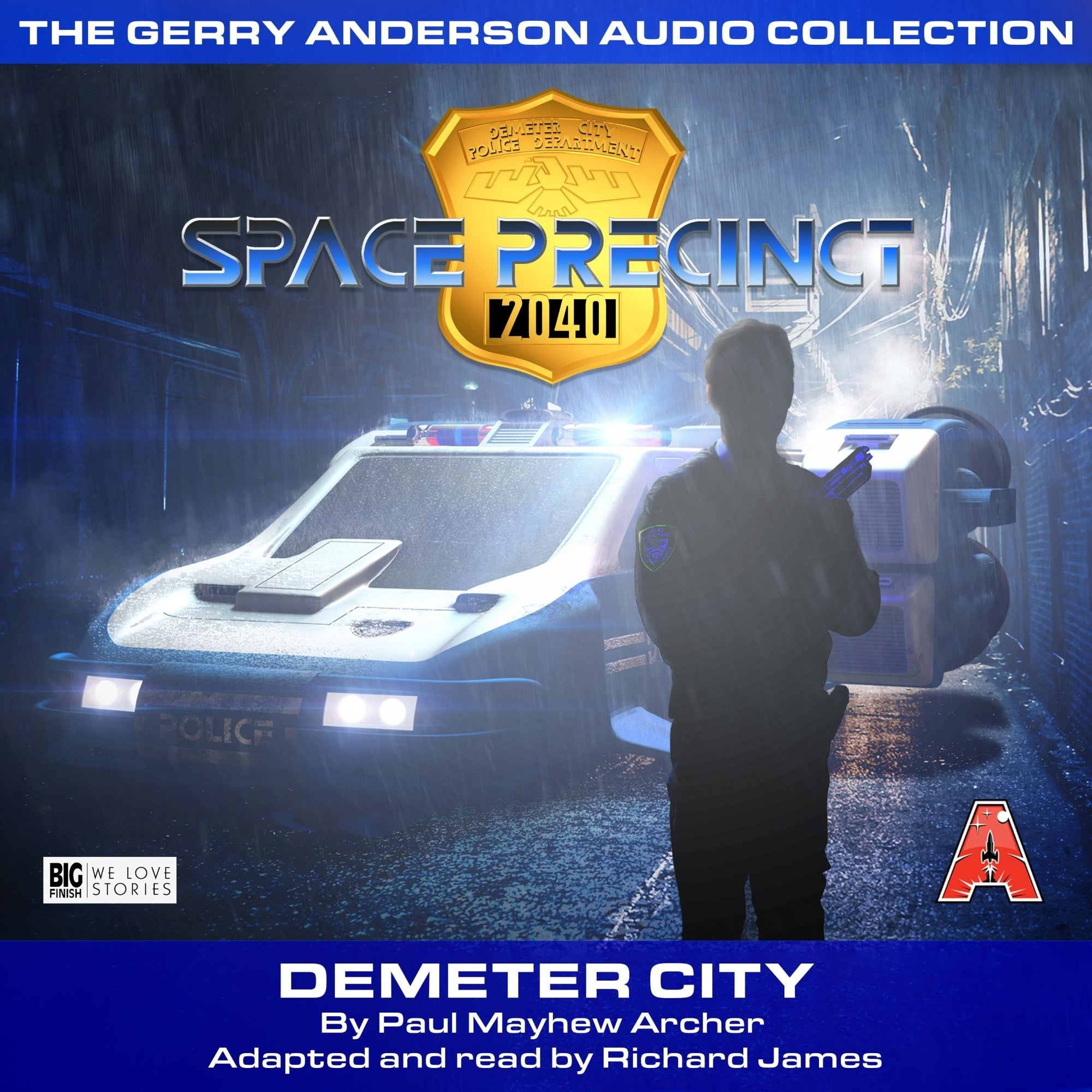 Space Precinct: Demeter City [AUDIOBOOK - DOWNLOAD] - The Gerry Anderson Store