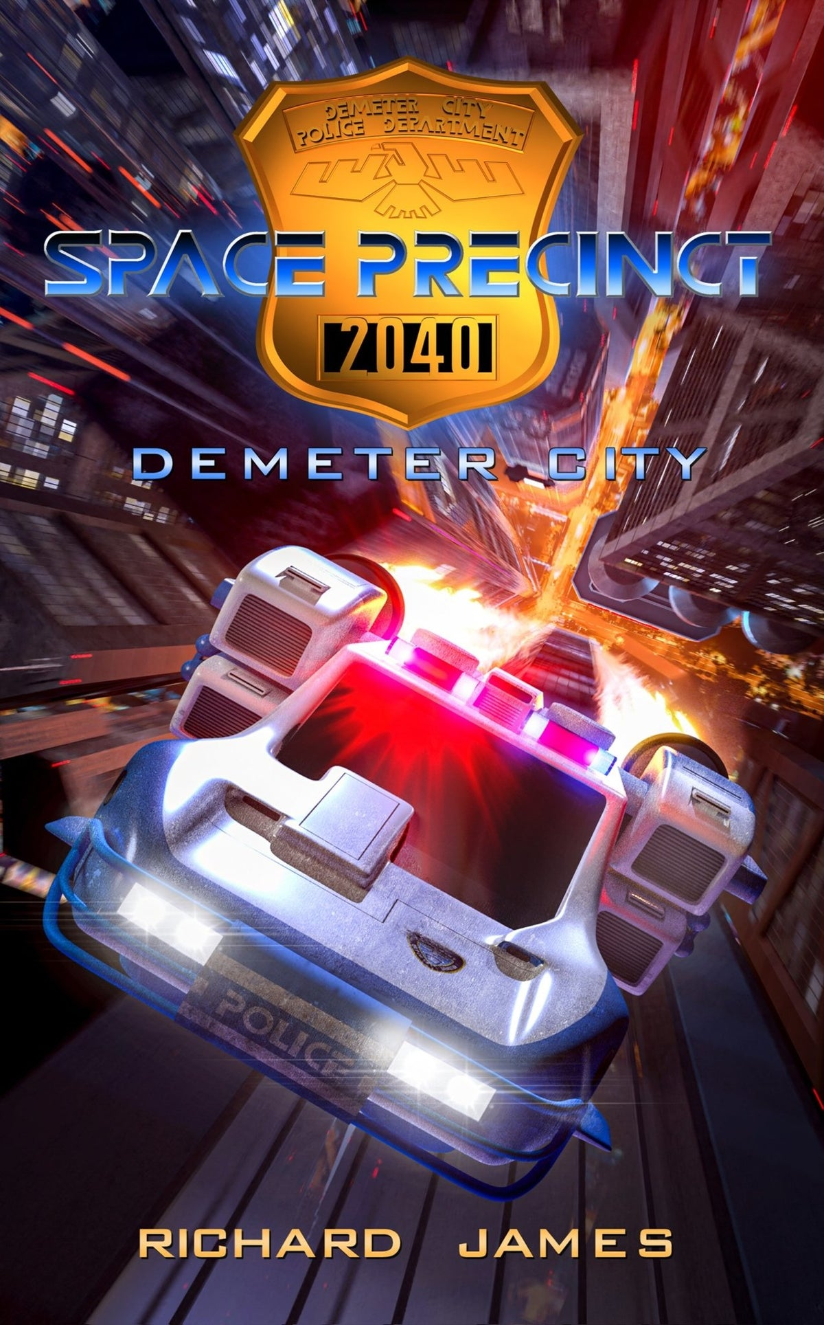 Space Precinct: Demeter City - Paperback - The Gerry Anderson Store