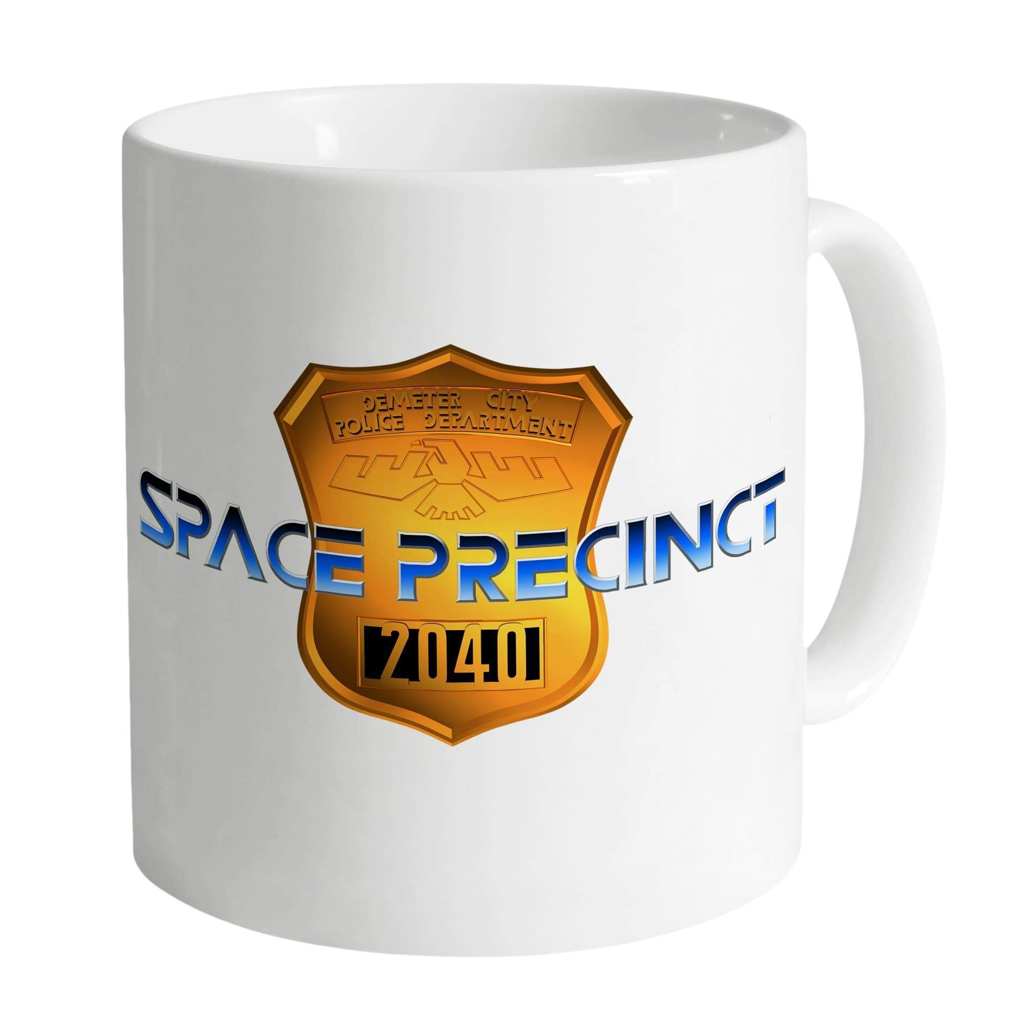 Space Precinct Logo Mug [Official & Exclusive] - The Gerry Anderson Store