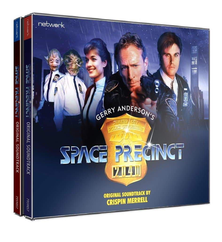 Space Precinct: Original Soundtrack - The Gerry Anderson Store