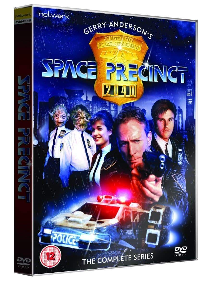 Space Precinct: The Complete Series [DVD](Region 2) - The Gerry Anderson Store