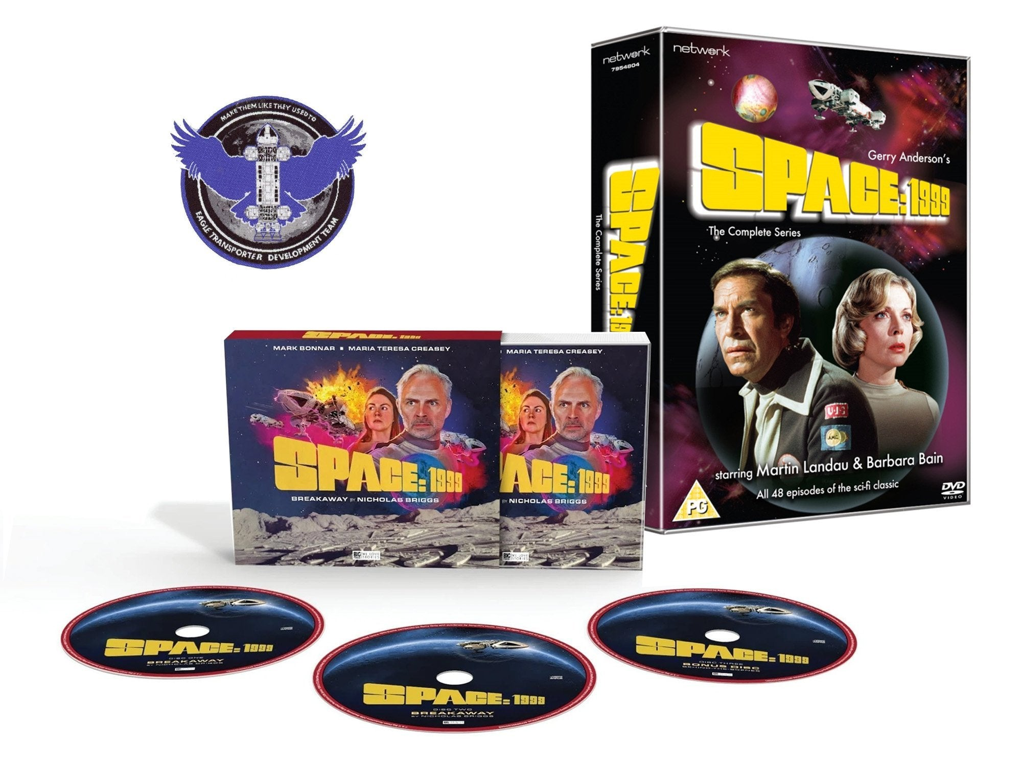 Space:1999 Complete DVD, Audio Drama and Eagle Patch Gift Pack (bundle) - The Gerry Anderson Store