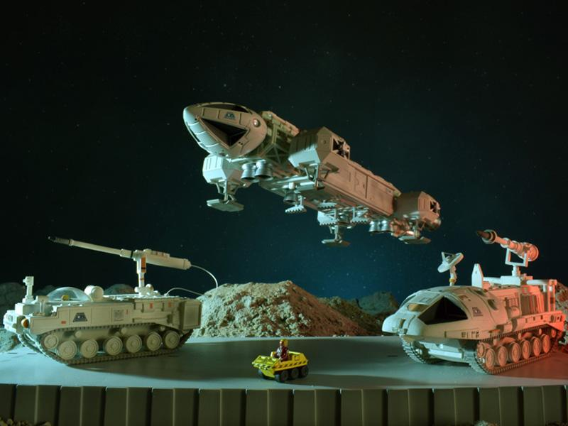 Space:1999 Models - The Infernal Machine - The Gerry Anderson Store