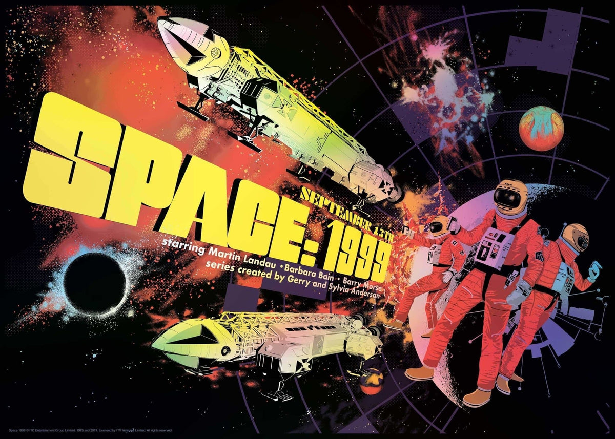 Space:1999 Print by Raid71 - The Gerry Anderson Store