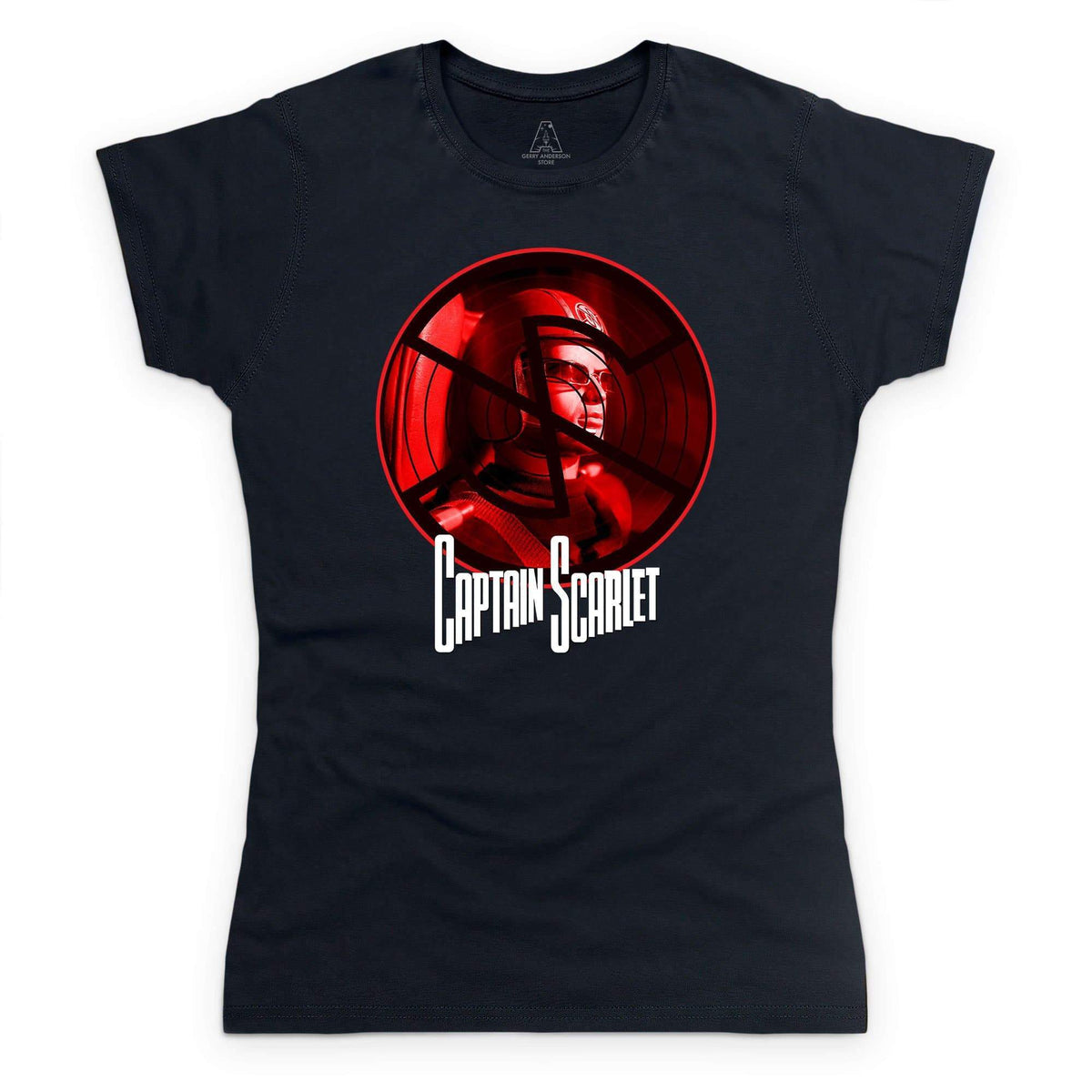 Spectrum vs Mysterons: Captain Scarlet (Limited Edition) Women's T-Shirt [Official & Exclusive] - The Gerry Anderson Store