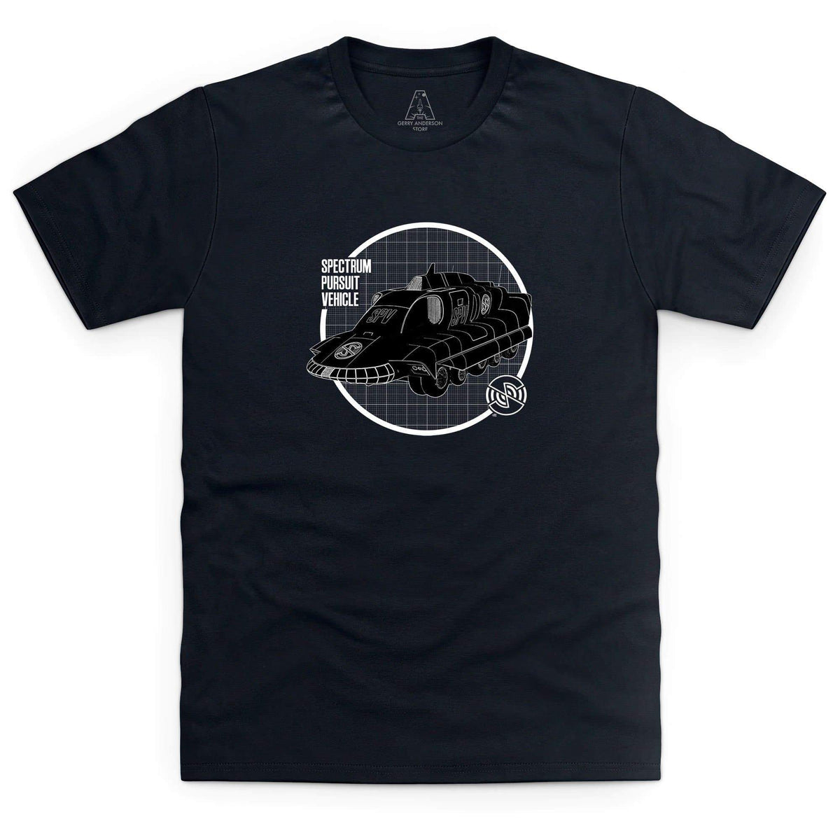 SPV Schematic Men's T-Shirt [Official & Exclusive] - The Gerry Anderson Store