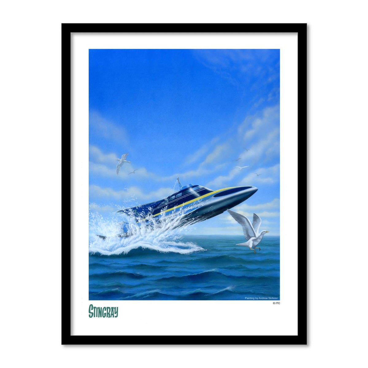Stingray Artist Signed Print (Official & Exclusive] - The Gerry Anderson Store