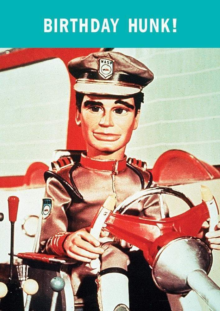 Stingray Birthday Greetings Card - The Gerry Anderson Store