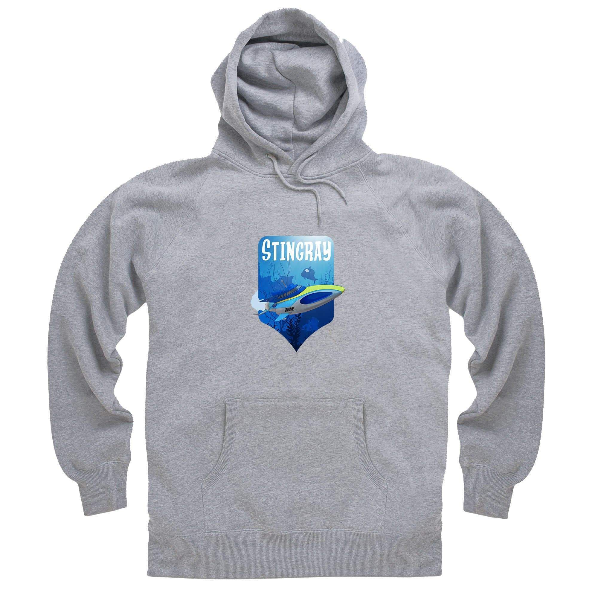 Stingray Dives Under The Sea Hoodie [Official & Exclusive] - The Gerry Anderson Store