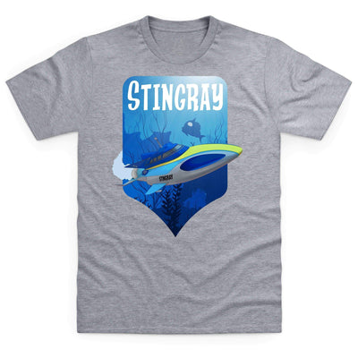 Stingray Dives Under The Sea Men's T-Shirt [Official & Exclusive] - The Gerry Anderson Store