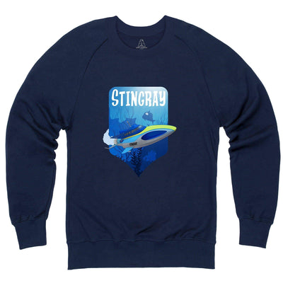Stingray Dives Under The Sea Sweatshirt [Official & Exclusive] - The Gerry Anderson Store