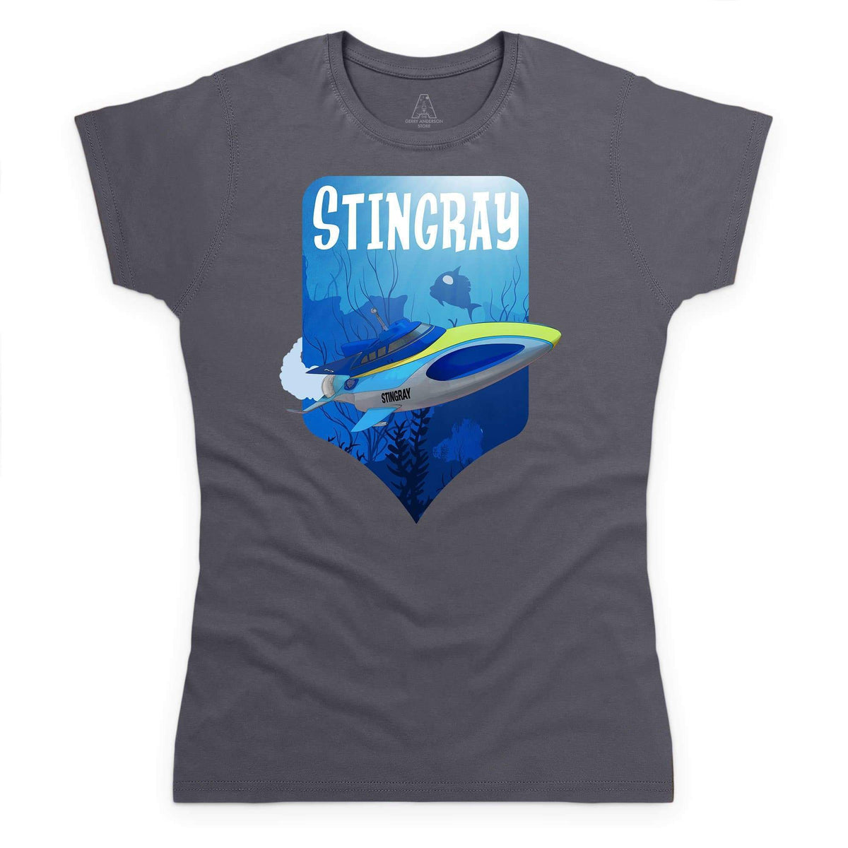 Stingray Dives Under The Sea Women's T-Shirt [Official & Exclusive] - The Gerry Anderson Store