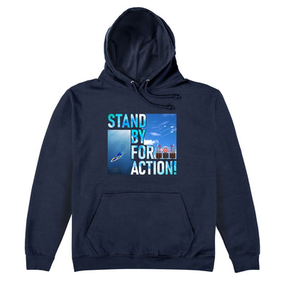 Stingray - Stand By For Action Hoodie [Official & Exclusive] - The Gerry Anderson Store