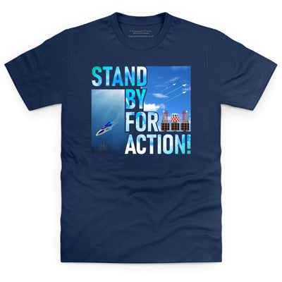 Stingray - Stand By For Action Men's T-Shirt [Official & Exclusive] - The Gerry Anderson Store