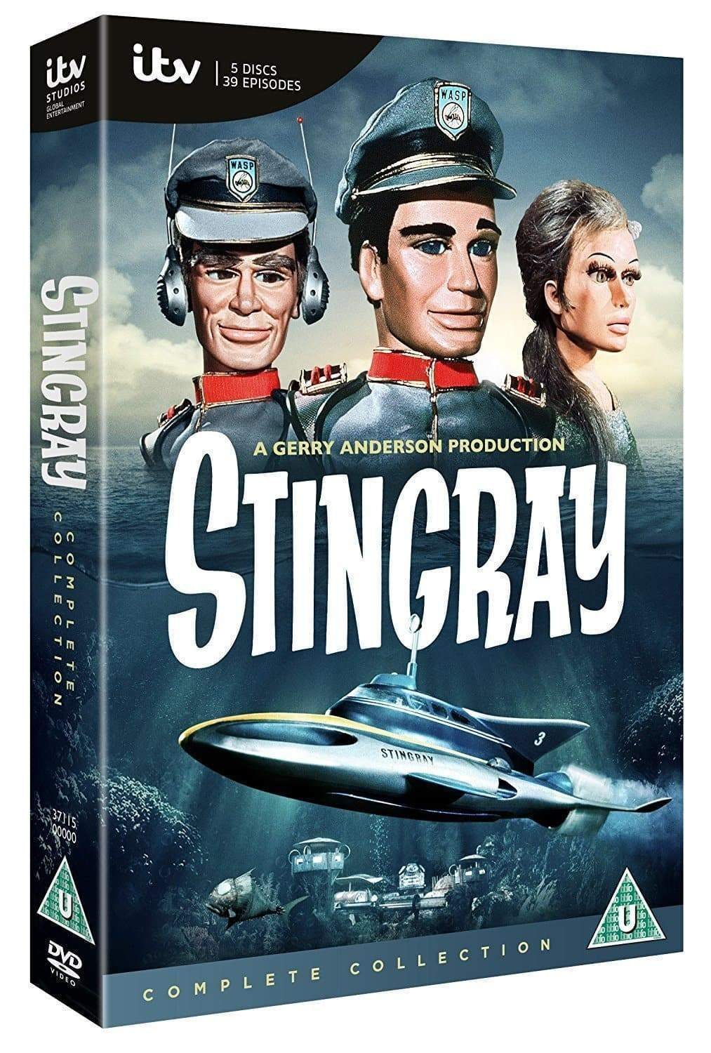 Stingray The Complete Collection [DVD](Region 2) - The Gerry Anderson Store