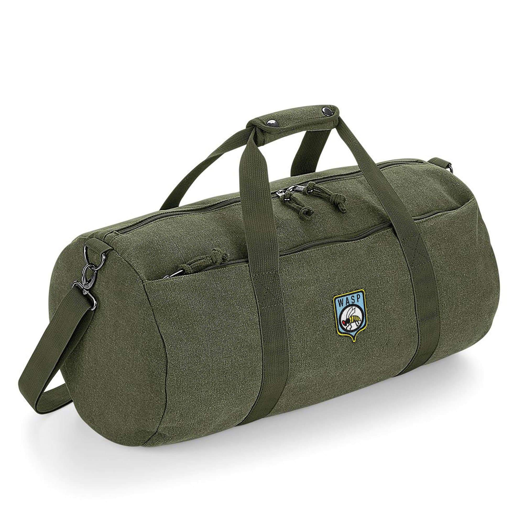 Stingray WASP Logo Barrel Bag [Official & Exclusive] - The Gerry Anderson Store
