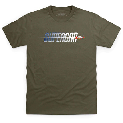 Supercar Men's T-shirt [Official & Exclusive] - The Gerry Anderson Store