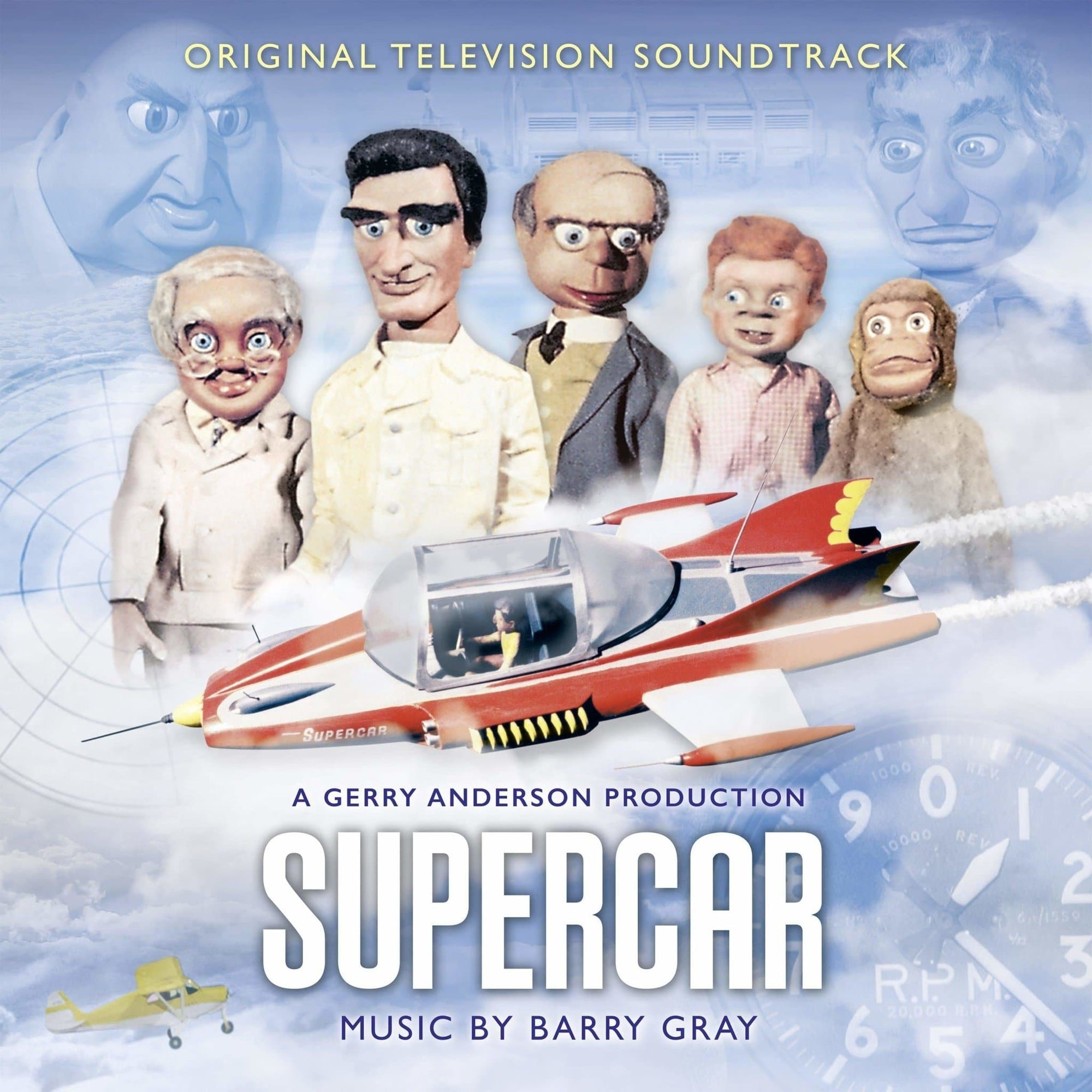 Supercar: Original TV Soundtrack (CD) - The Gerry Anderson Store